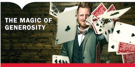Magic of Generosity tickets