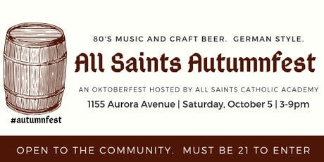 All Saints Autumnfest tickets