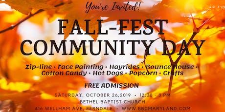 Fall-Fest Community Day tickets
