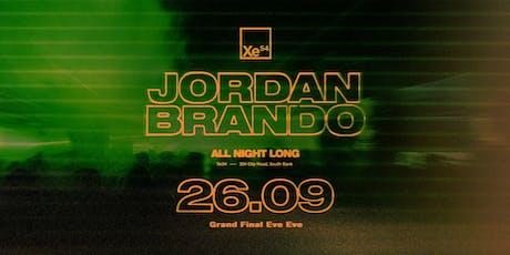 Jordan Brando ▬ All Night Long #3 tickets