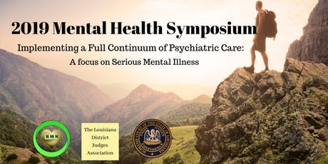 Conference - Implementing a Full Continuum of Psych Care: Focus on SMI  tickets