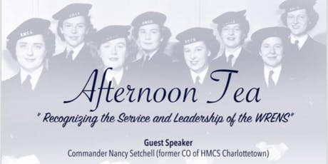 "Afternoon Tea ""Recognizing the Service & Leadership of the WRENS"" tickets"