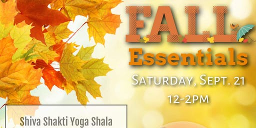 DIY Fall Essentials @ The Shala