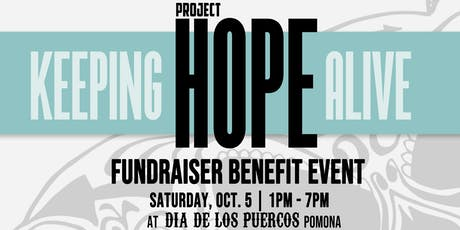 """Project Hope California & Family Run 2  """"KEEPING HOPE ALIVE"""" Fundraiser tickets"""