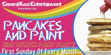 Pancakes and Paint Kids Brunch Party tickets