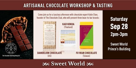 Artisanal Chocolate Workshop & Tasting tickets