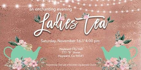 UCAC Ladies Tea tickets
