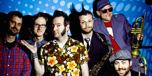 REEL BIG FISH, LESS THAN JAKE & GOLDFINGER -A ROWDY SKA DJ TRIBUTE