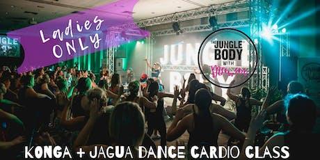 The Jungle Body with Mawar : KONGA® + JAGUA® dance cardio and toning class tickets