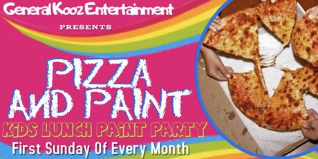 Pizza and Paint Kids Lunch Party tickets