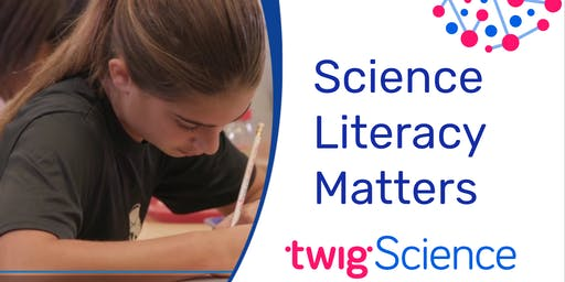 Sacramento Area: Science Literacy Matters with Wiley Blevins