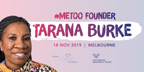 #MeToo Founder Tarana Burke | Melbourne | One Night Only tickets