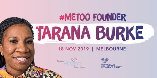 #MeToo Founder Tarana Burke | Melbourne | One Night Only