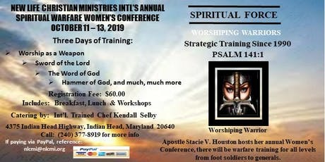 NLCMI's Annual Spiritual Warfare Women's Conference tickets