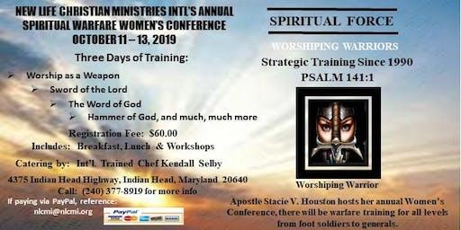 NLCMI's Annual Spiritual Warfare Women's Conference