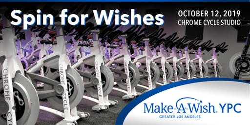Spin for Wishes! Cycle event to support Make-A-Wish Greater Los Angeles!