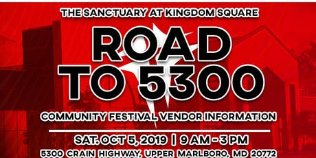 The Sanctuary at Kingdom Square Community Festival tickets