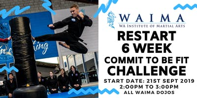 Restart 6 Week Commit to be Fit Challenge