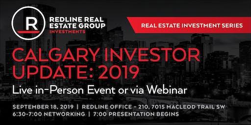 Calgary Investor Update: 2019