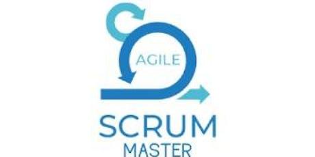 Agile Scrum Master 2 Days Virtual Live Training in Hamilton City tickets