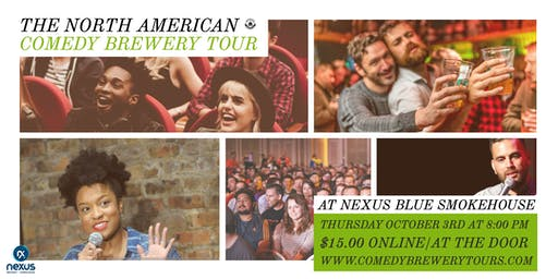 Comedy Brewery Tour at Nexus Blue Smokehouse & Brewery