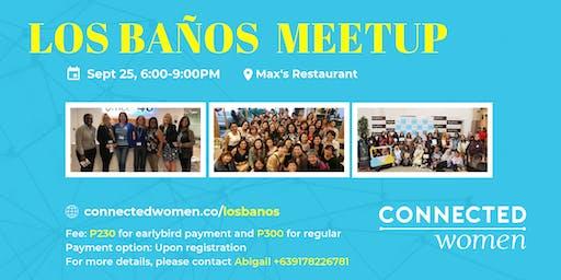 #ConnectedWomen Meetup - Los Banos (PH) - September 25