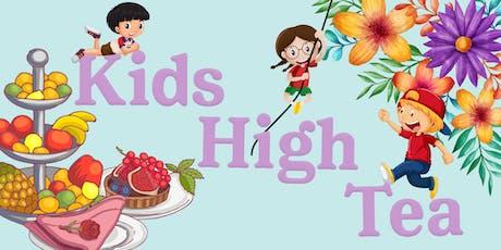 Spring Kids High Tea tickets