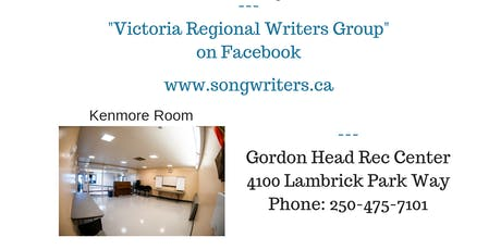 October Victoria Regional Writers Group Meet Up tickets