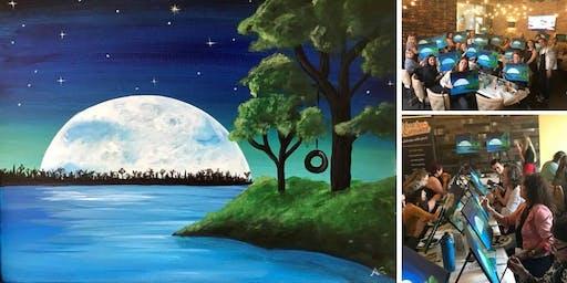 Full Moon Painting Event at Ballast Point Miramar
