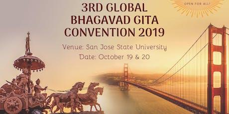 2019 Global Bhagavad Gita Convention tickets