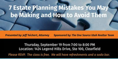 Estate Planning - 7 Estate Planning Mistakes You May Be Making