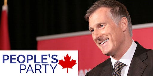 People's Party of Canada Rally w/ Maxime Bernier