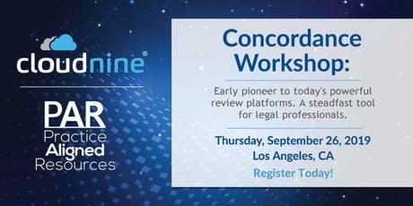 CloudNine Concordance Day! tickets