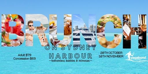Brunch on Sydney Harbour; bottomless bubbles & mimosas