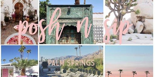 September Palm Springs Posh N Sip
