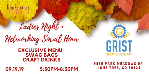 September to Remember Ladies Night Networking Social at Grist Brewing
