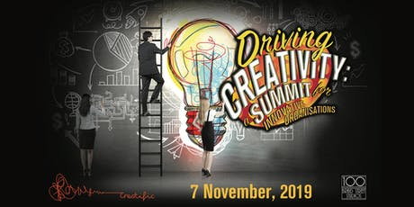 Driving Creativity: a Summit for Innovative Organisations tickets