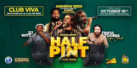Half Pint Live @ Club Viva tickets