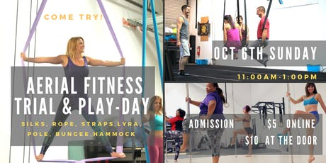 Aerial Fitness Trial Event & Play-Day! tickets
