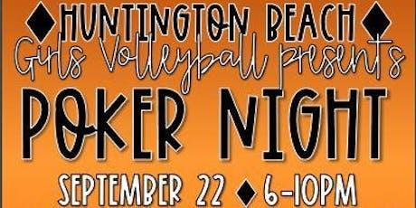 HBHS Girls Volleyball Poker Night Fundraiser tickets