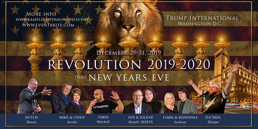 REVOLUTION 2019-2020! Thru New Years Eve, Trump Int'l DC