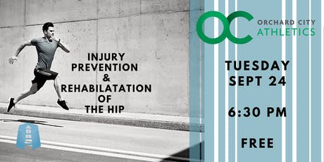 Free Hip Workshop: Injury Prevention and Rehabilitation tickets
