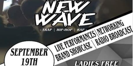 """Life Of The Party:A Music & Art Experience """"The New Wave"""" 9.19 tickets"""