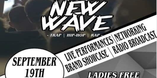 "Life Of The Party:A Music & Art Experience ""The New Wave"" 9.19"