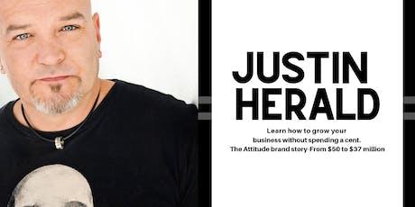 Justin Herald in Deniliquin  tickets