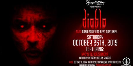 DIABLO - Halloween 2019 tickets