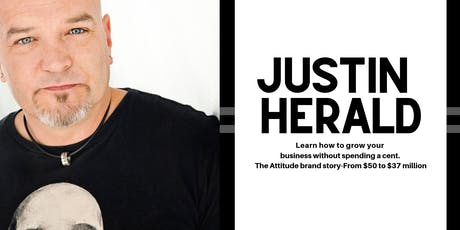 Justin Herald in Albury  tickets