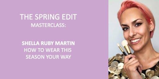 Beauty Masterclass with Shella Ruby Martin