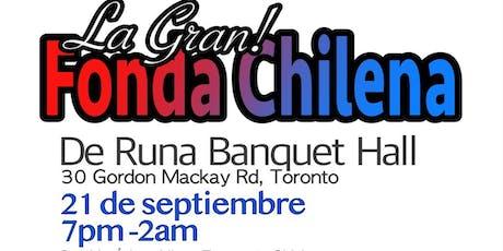 La Gran Fonda Chilena - Toronto tickets