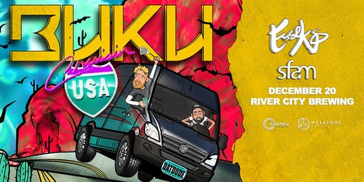 Buku's Cruisin' USA Tour ft. Esseks & sfam - Jacksonville, FL